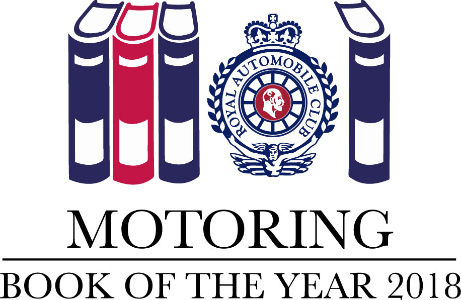 Three Evro books shortlisted for RAC 2018 Motoring Book of the Year Awards