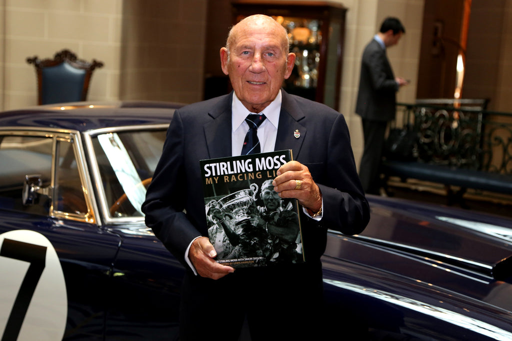 Stirling Moss's book launch, by Kevin Garside of 'The Independent'