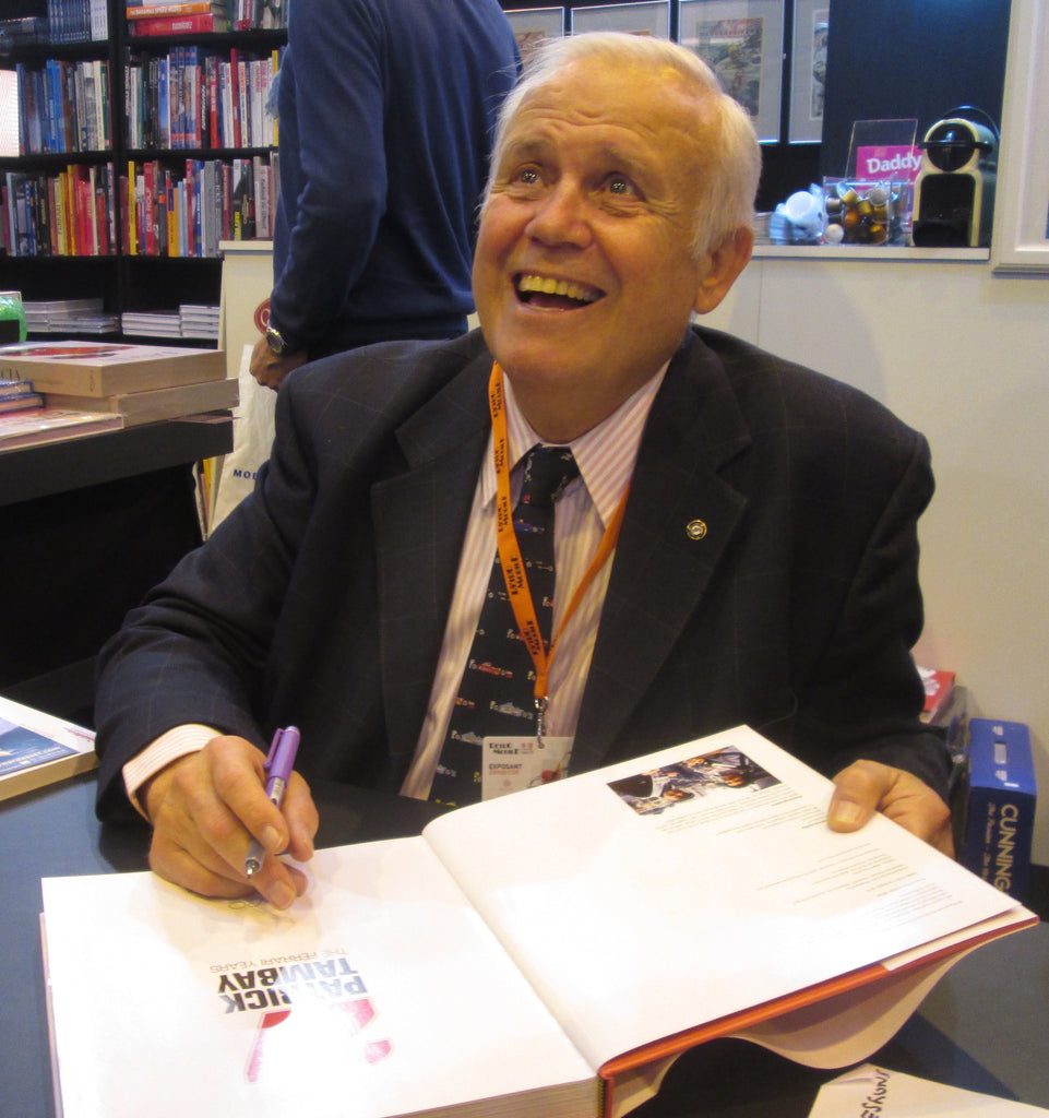 Rétromobile book signing by Patrick Tambay