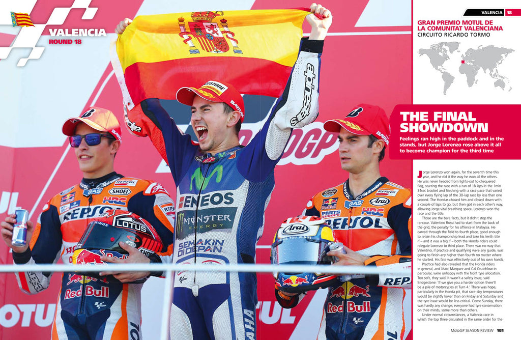 OFFICIAL MOTOGP SEASON REVIEW 2015
