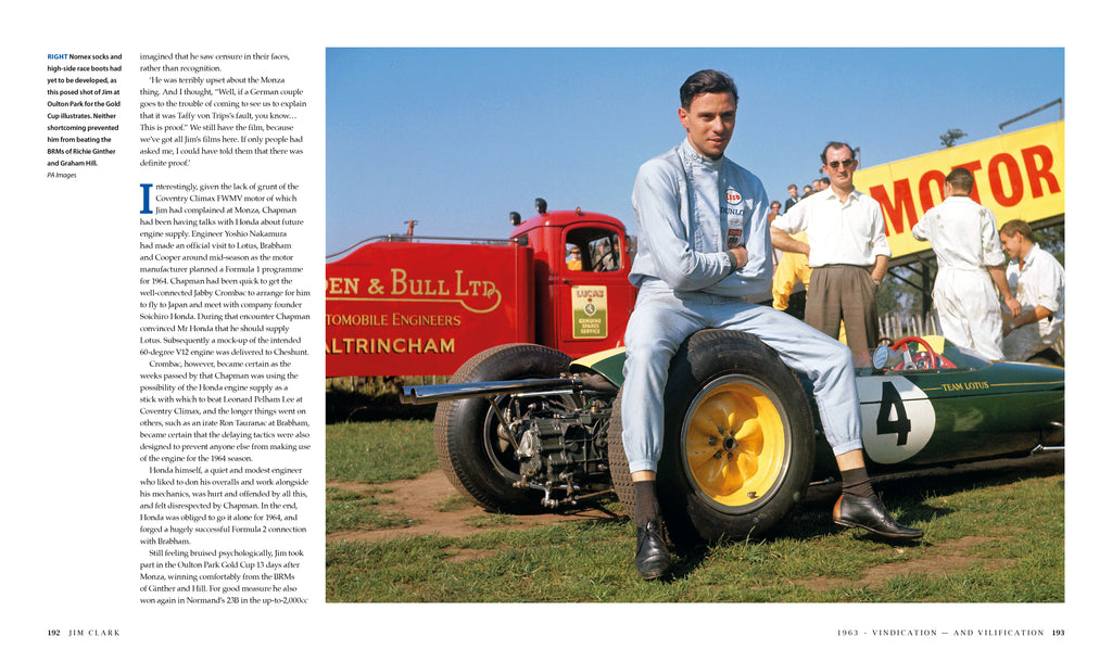 JIM CLARK: The best of the best