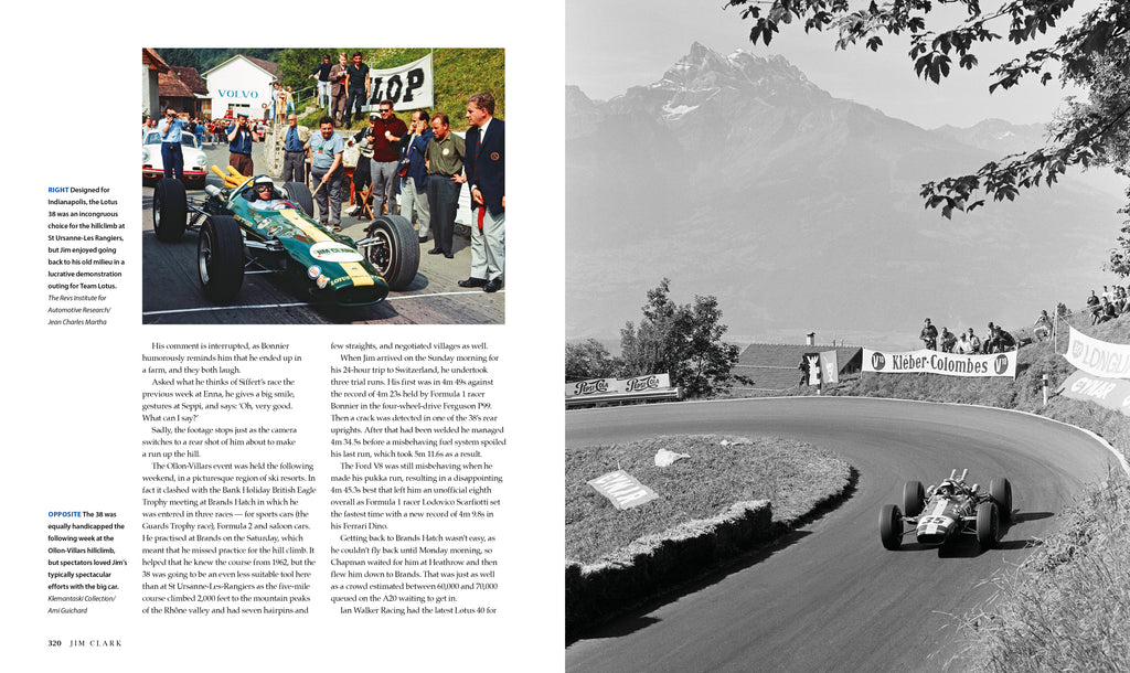 JIM CLARK The best of the best – LEATHER EDITION