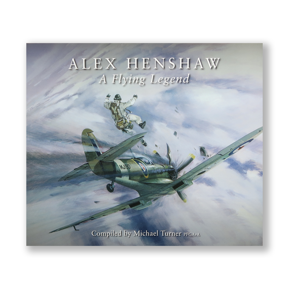 ALEX HENSHAW - A flying legend