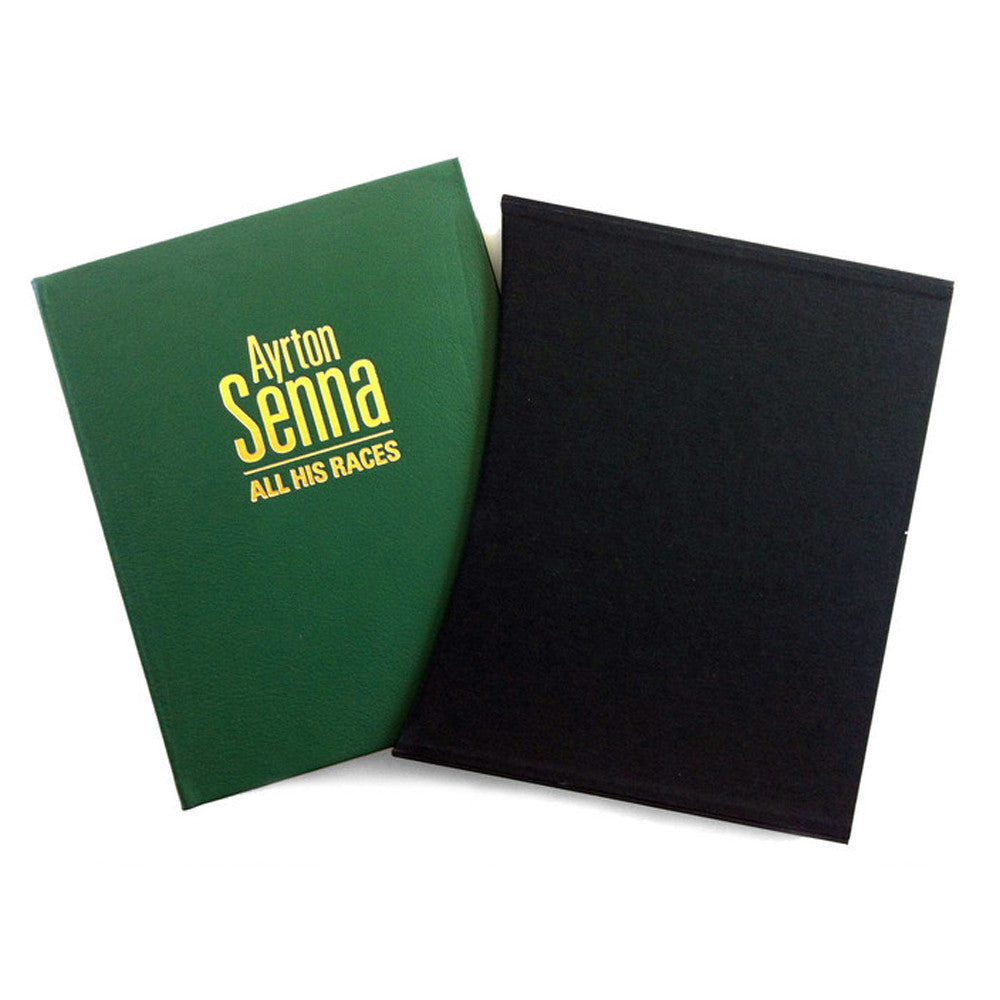 AYRTON SENNA: ALL HIS RACES – LEATHER EDITION