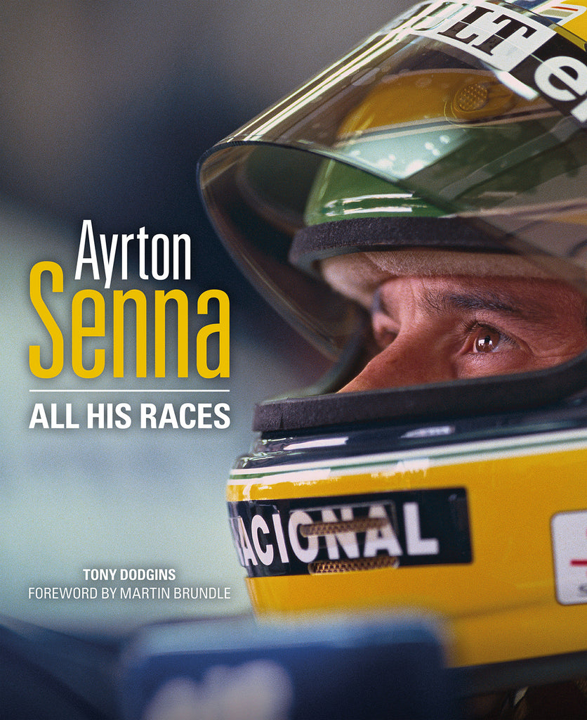 AYRTON SENNA:            ALL HIS RACES