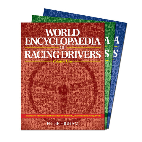 WORLD ENCYCLOPAEDIA OF RACING DRIVERS