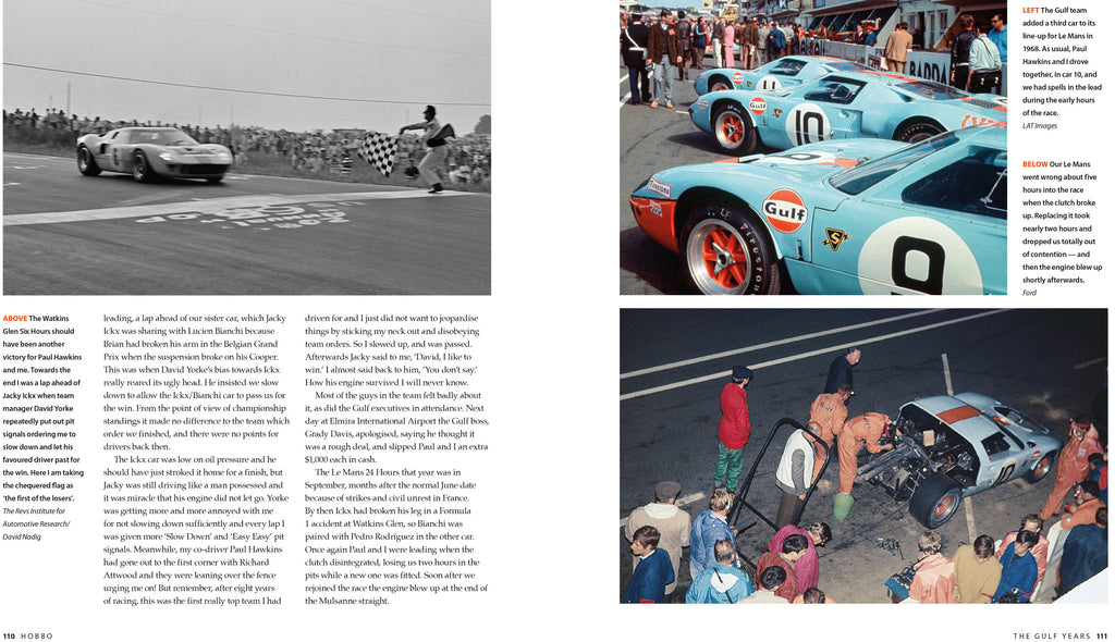 HOBBO Motor racer, motor mouth The autobiography of David Hobbs – LEATHER EDITION