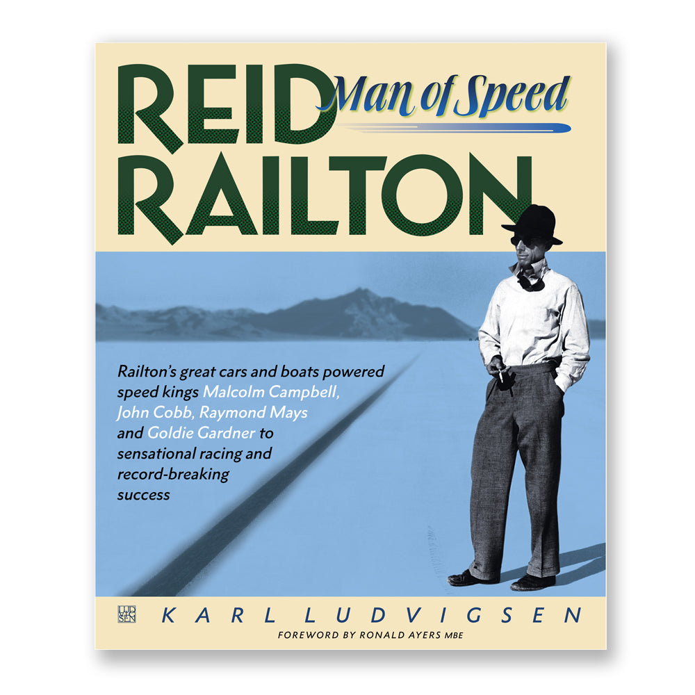 REID RAILTON: Man of Speed - SIGNED