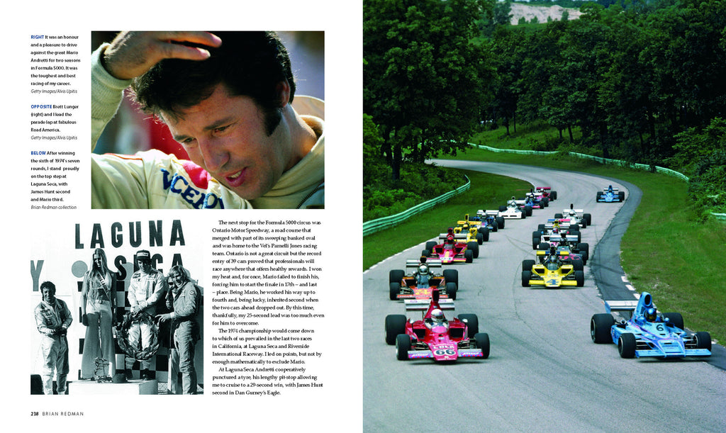 BRIAN REDMAN: A RACER'S MEMOIR OF A DANGEROUS DECADE, 1965–75 – LEATHER EDITION