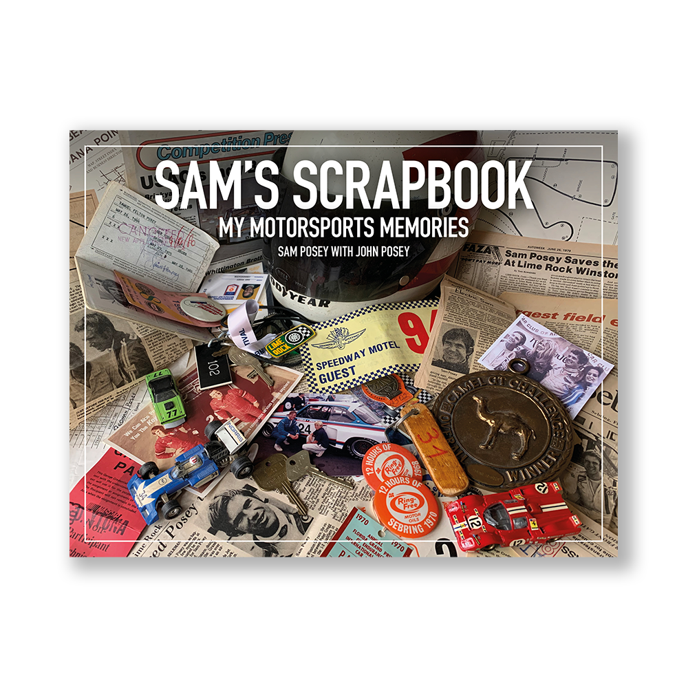 SAM'S SCRAPBOOK My motorsports memories