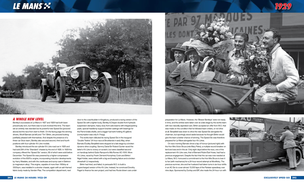 LE MANS: THE OFFICIAL HISTORY 1923–29