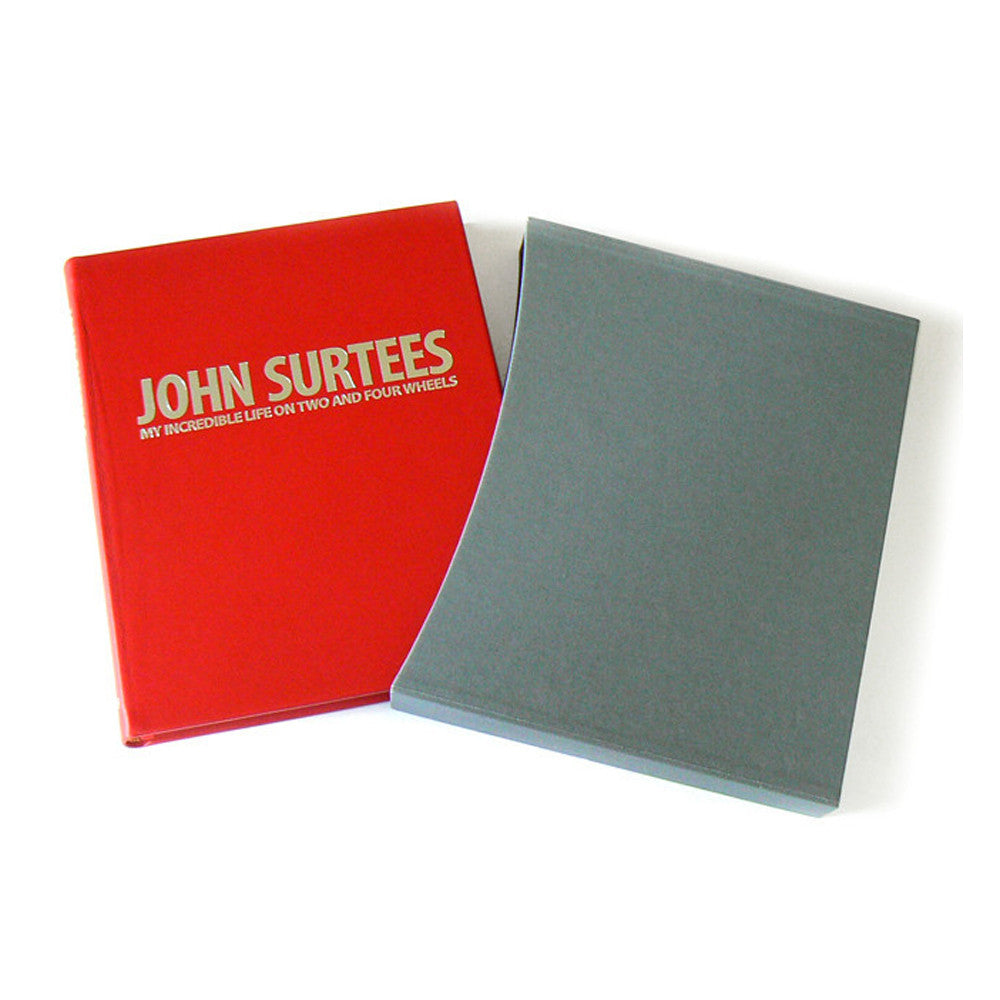 JOHN SURTEES: MY INCREDIBLE LIFE ON TWO AND FOUR WHEELS – LEATHER EDITION