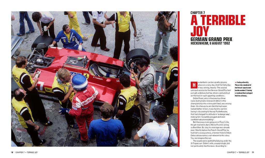27: PATRICK TAMBAY – THE FERRARI YEARS