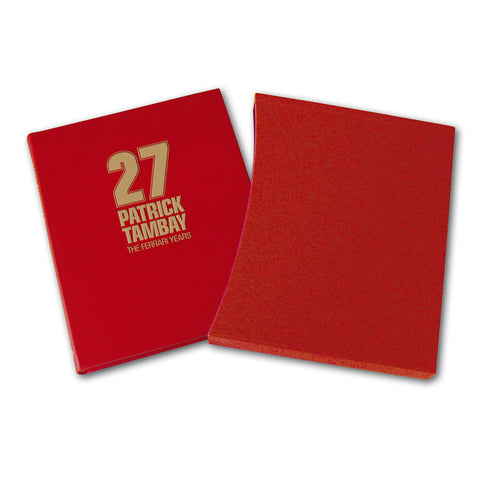 27: PATRICK TAMBAY – THE FERRARI YEARS - LEATHER EDITION