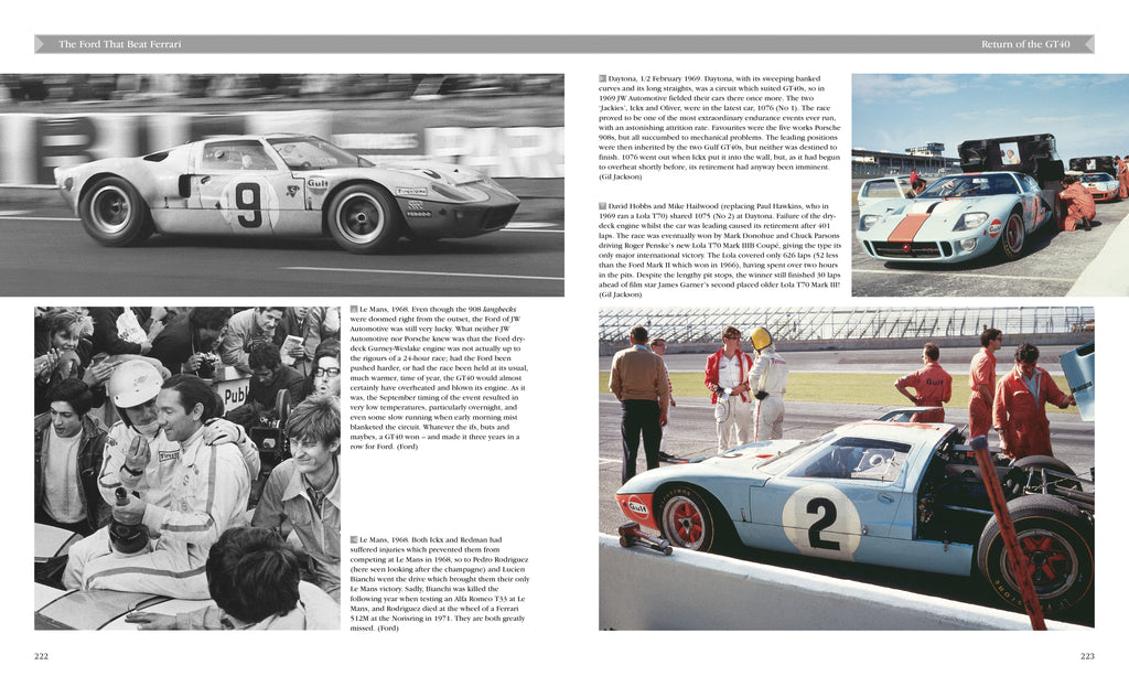 The Ford That Beat Ferrari A Racing History of the GT40 Third edition