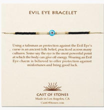 Load image into Gallery viewer, Evil eye bracelet