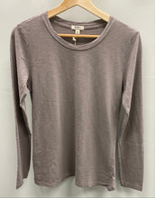 Load image into Gallery viewer, Dylan Long sleeve soft slub tee