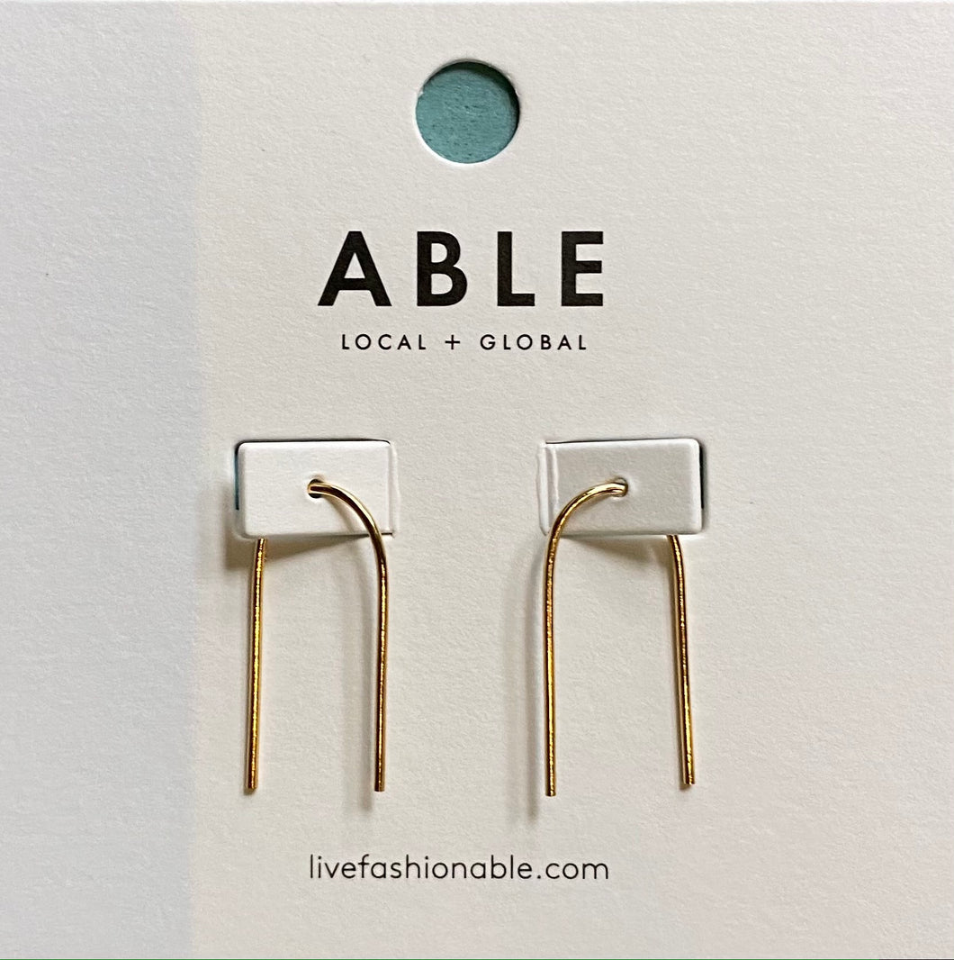 Able Ear Arch Earrings