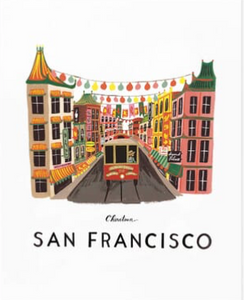 San Fran print from Rifle Paper Co.