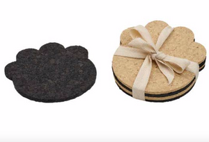 Rubber Paw Coasters