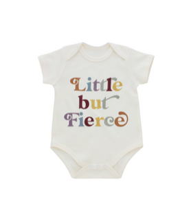 Emerson Little But Fierce onesie