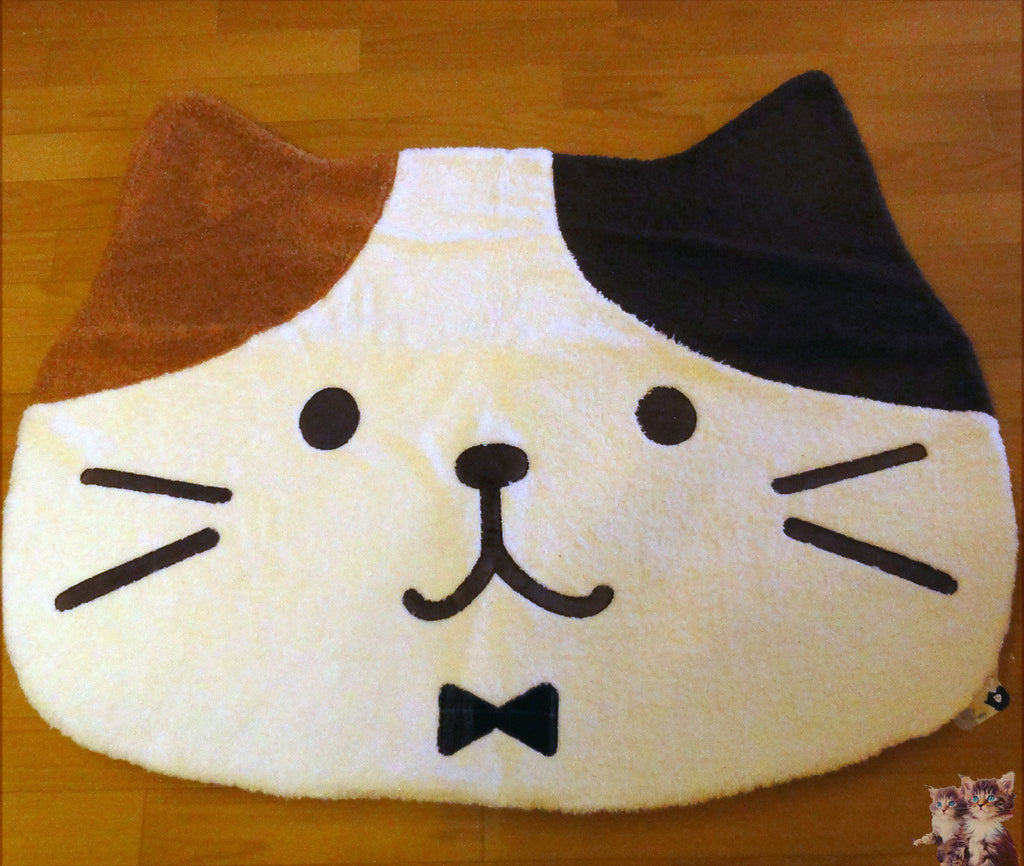 Cat shaped big carpet