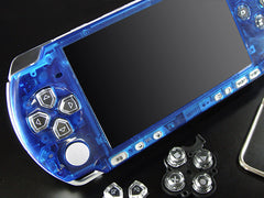 XCM Bling face plate for PSP 3000 series  Crystal Blue