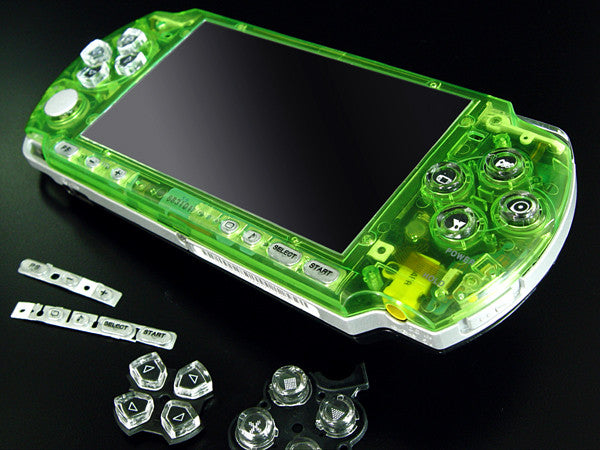 XCM Bling face plate for PSP 3000 series  Crystal Green