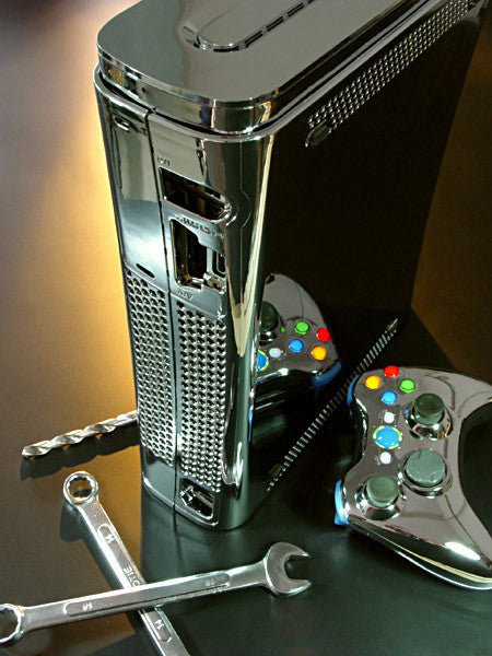 XCM 360 (FAT) Chrome case with HDMI port