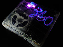 XCM Crystal Clear Slim plus with X-Light kit (for xbox 360 slim)