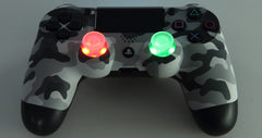 PS 4 pre-mod urban camouflage version controller  with MaxColor Dream sticks