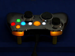 XCM WIRED controller shell-Chrome Yellow