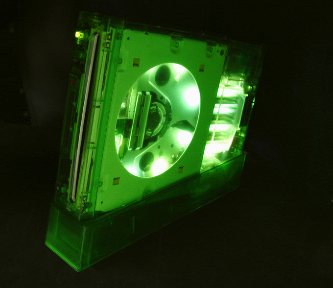 ii case (Halo green with LED)