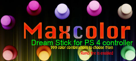 Maxcolor Dream stick for PS 4 controller (LED thumbsticks)