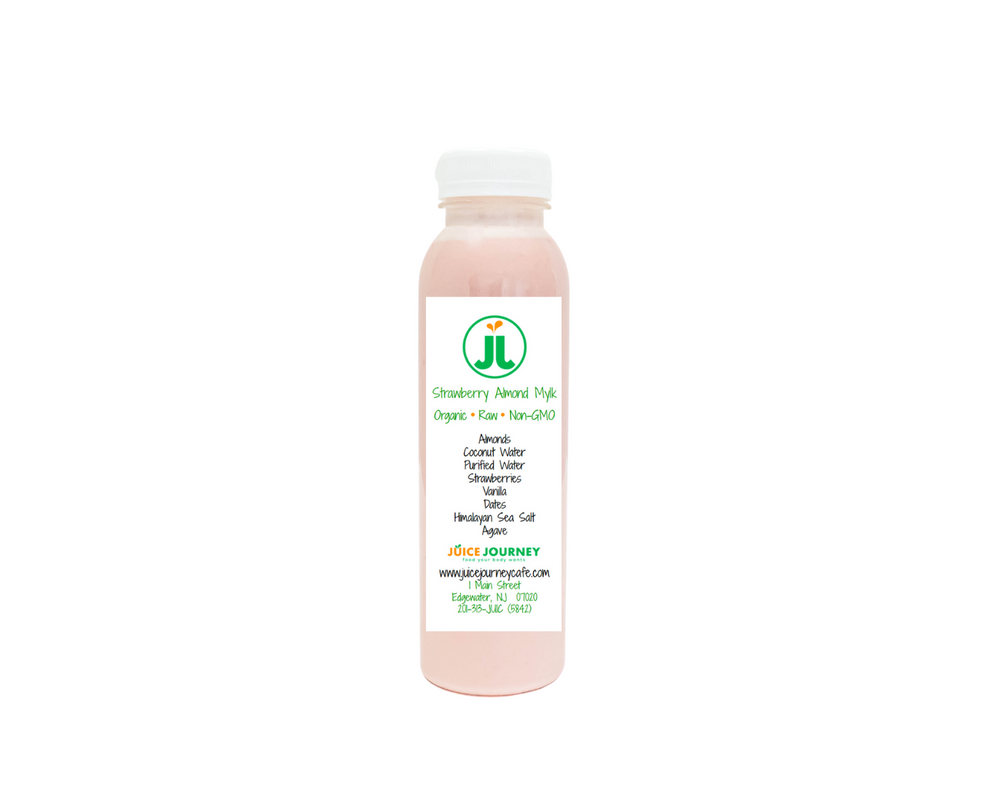 Load image into Gallery viewer, Strawberry Almond Mylk - Juice Journey