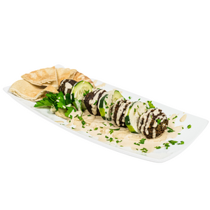 Load image into Gallery viewer, Falafel Platter with Tahini Sauce - Juice Journey