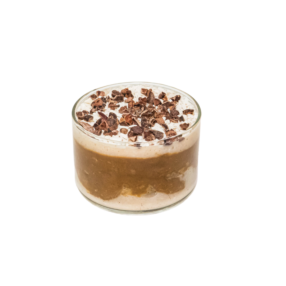 Load image into Gallery viewer, Chocolate Avocado Mousse with Coconut Cream - Juice Journey
