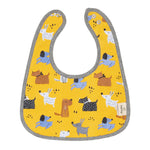 Colourful Dogs Organic Reversible Bib