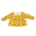 Colourful Dogs Teatime Blouse