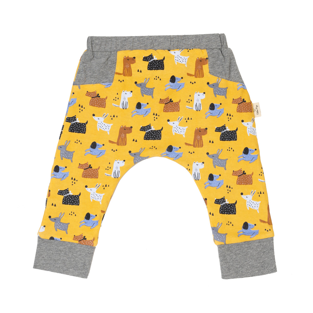 Colourful Dogs Reversible Pants