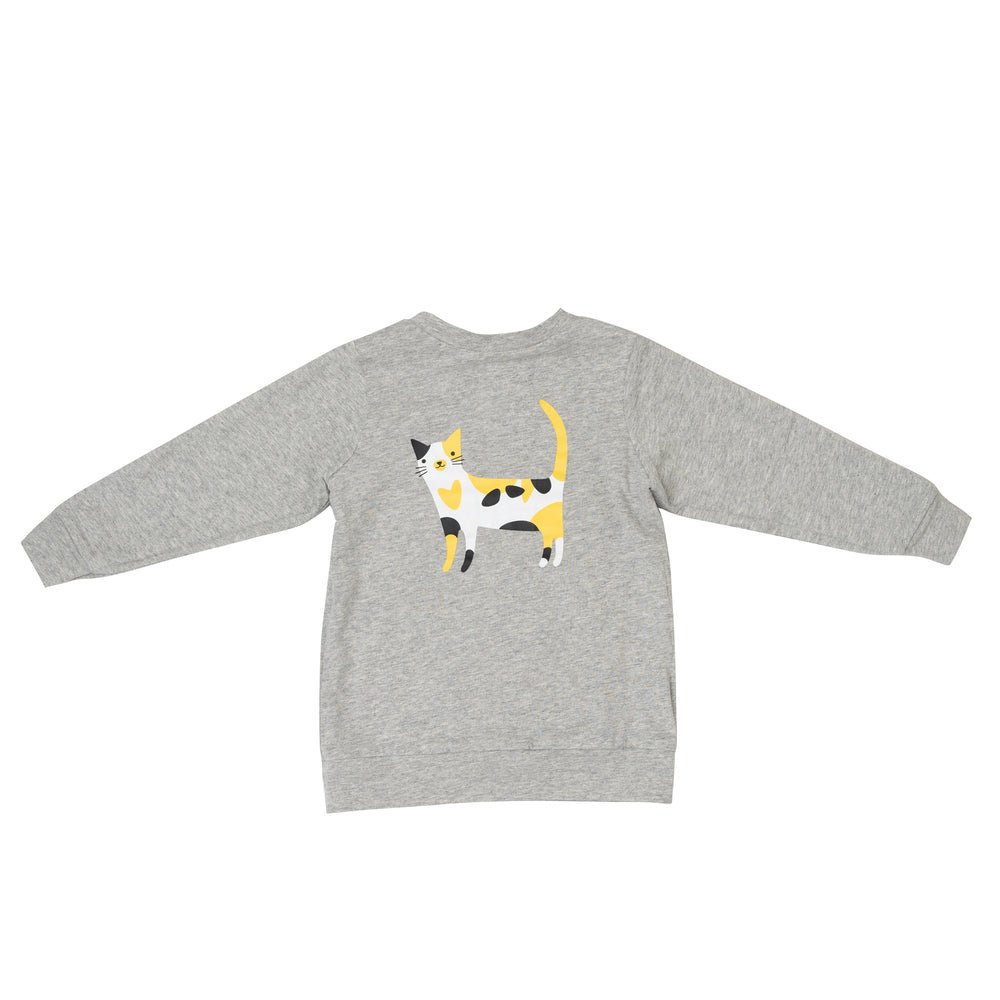Funny Cats Reversible Jumper