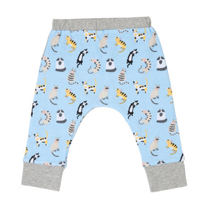 Funny Cats Reversible Pants
