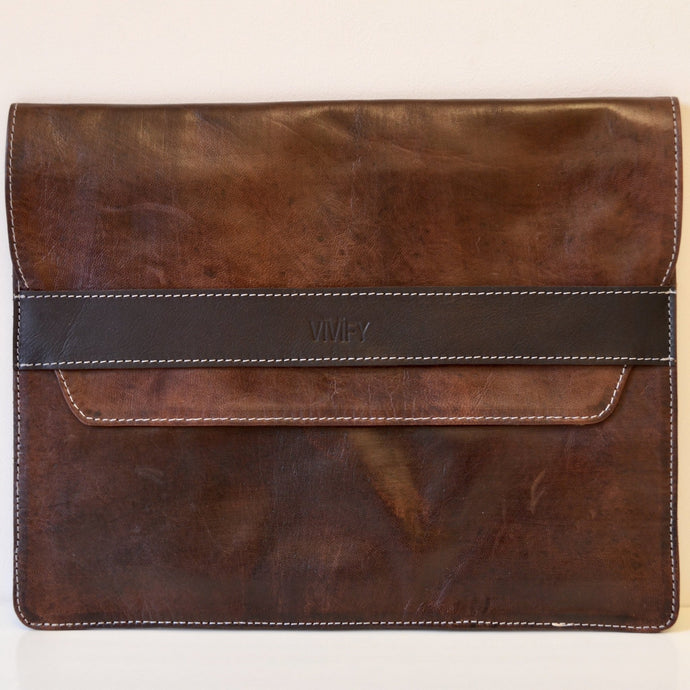 Leder Laptop Sleeve