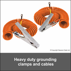 Heavy Duty VESX90 & VESX45 Grounding Clamp