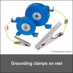 Grounding Clamp on reels