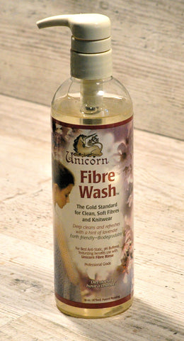 SALE: Unicorn Fibre Wash, Large - Old Style Bottle
