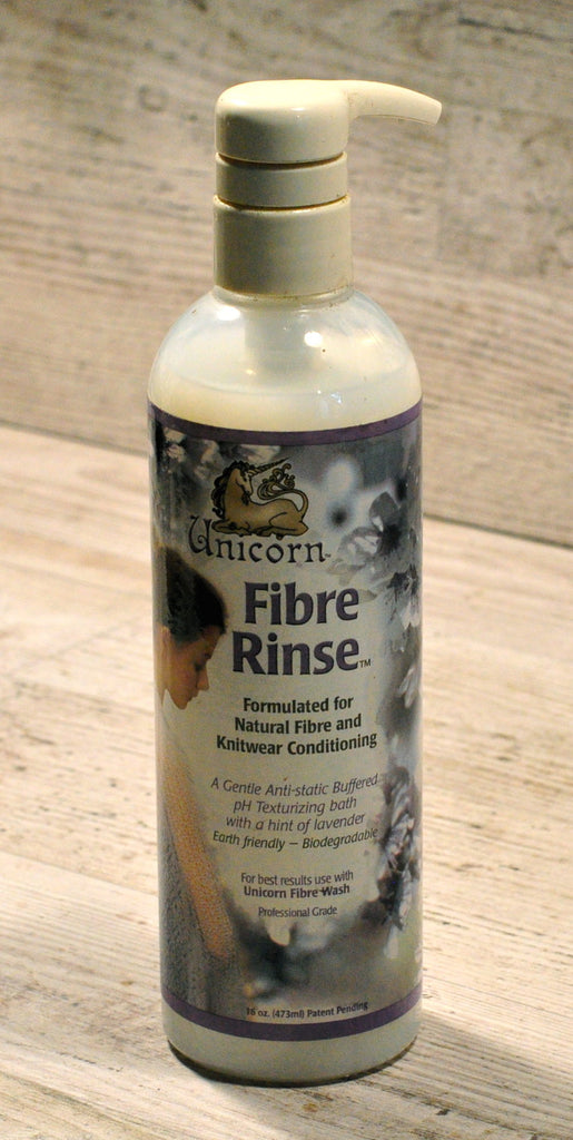 SALE: Unicorn Fibre Rinse, Large Bottle, Old Style