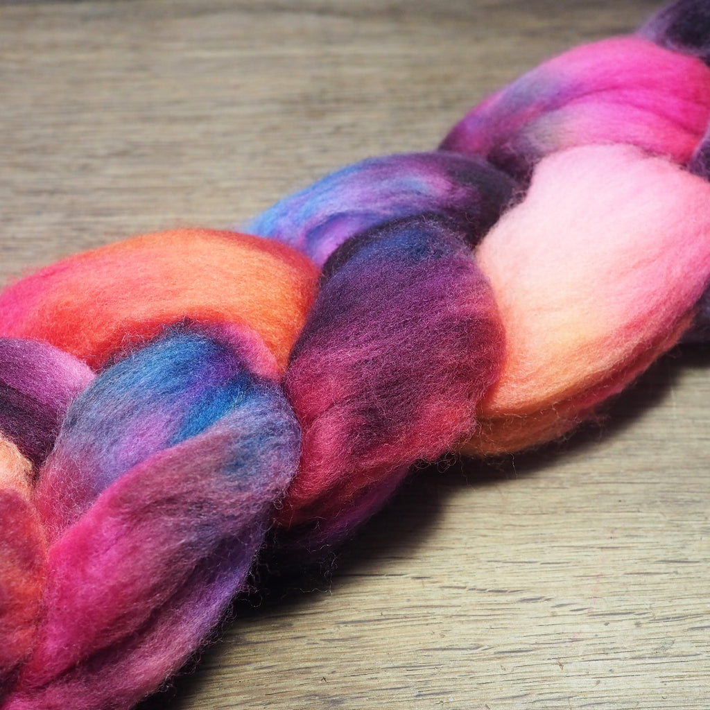 Falkland Wool Top - 'Morello' 85g