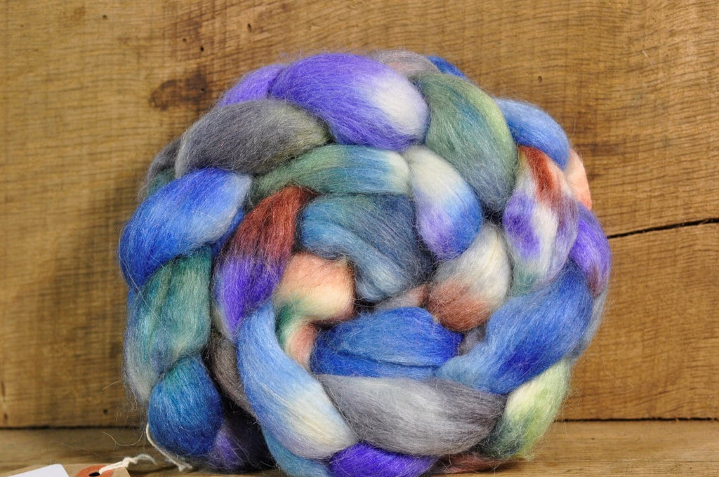BFL/Alpaca/Silk Top for Hand Spinning - 'Sumburgh Head'