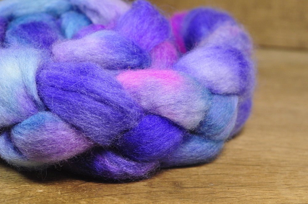 BFL Wool Top for Hand Spinning - 'The Colour of Magic'